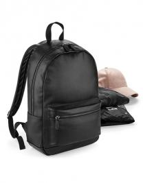 Faux Leather Fashion Backpack