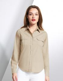 Womens Long Sleeve Shirt Bolivia